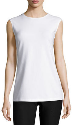 NIC+ZOE Perfect Layer Tank, Black $68 thestylecure.com
