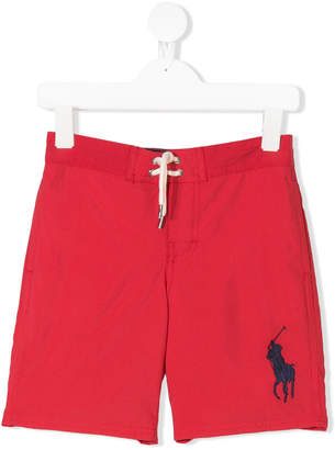 Ralph Lauren embroidered logo swim shorts