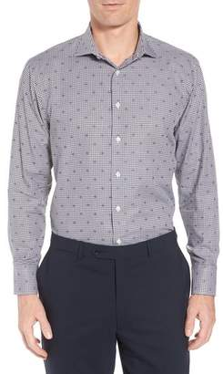 John W. Nordstrom R) Traditional Fit Check Dress Shirt
