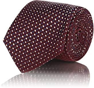 Tie Your Tie TIE YOUR TIE MEN'S DOT-WEAVE SILK SATIN NECKTIE