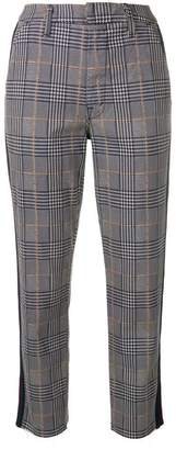 Mother Shaker Prep Fray trousers