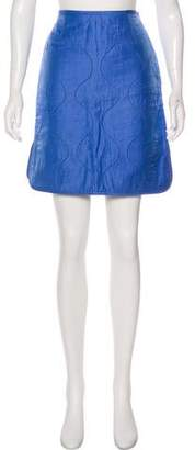 Trademark Quilted Mini Skirt