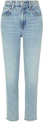 Alexander Wang Cropped Side-Zip Jeans