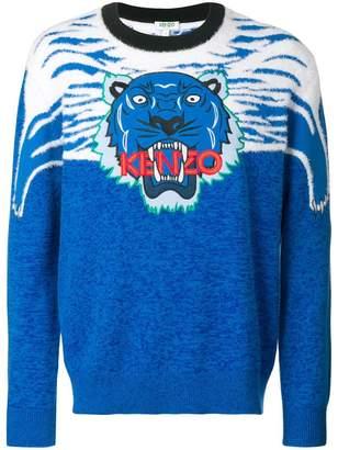 Kenzo crew-neck Tiger jumper