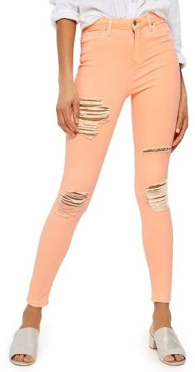 TopshopWomen's Topshop Jamie Super Ripped Skinny Jeans