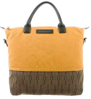 WANT Les Essentiels Leather-Trimmed Canvas Bag