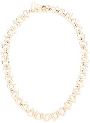 Salvatore Ferragamo Collane Necklace $370 thestylecure.com