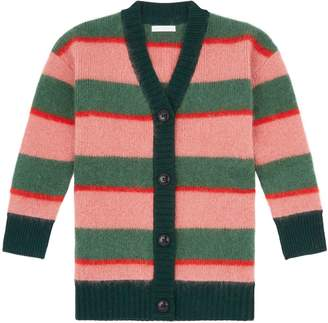 Burberry Knitted Mohair Cardigan