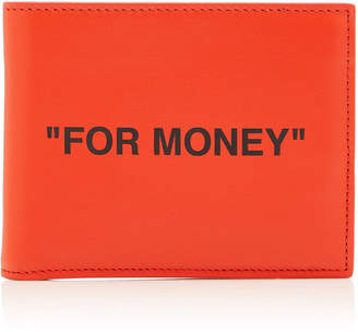 Off-White Off White C/O Virgil Abloh Printed Leather Wallet