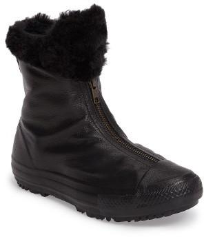 Women's Converse Faux Fur Boot $119.95 thestylecure.com