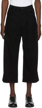 Eckhaus Latta Black Baggy Jeans