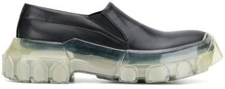 Rick Owens chunky sole loafers