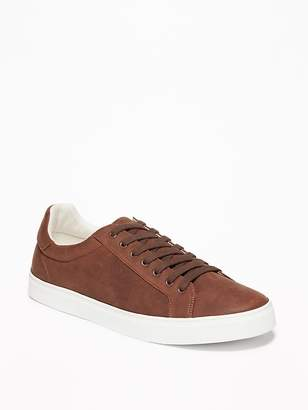 Old Navy Faux-Leather Sneakers for Men