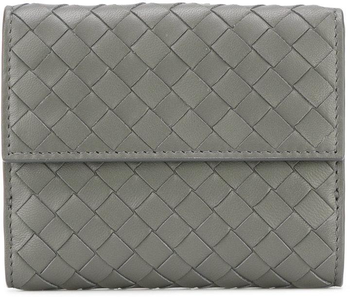 Bottega VenetaBottega Veneta bi-fold interlaced wallet