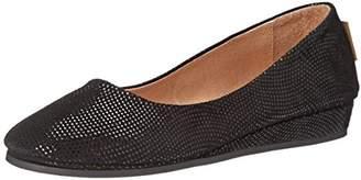 French Sole Women's Zeppa Slip on Shoes