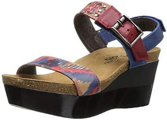 Naot Footwear Women's Alpha Print Wedge Sandal