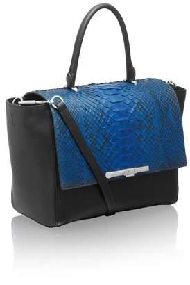 Amanda Wakeley Newman Sapphire Python Bag