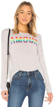 Sundry Amour Cashmere Blend Crew Neck