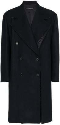 Y/Project Y / Project panelled double breasted wool coat