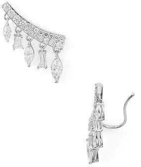Nadri Revel Single Ear Crawler Earring