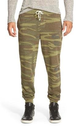 Men's Alternative 'Dodgeball' Camo Print Sweatpants $58 thestylecure.com