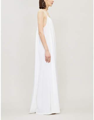 The Row Dresia cotton-jeresey maxi dress