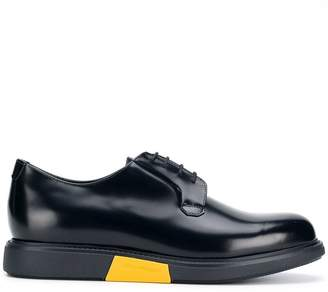 Emporio Armani colour block lace-up shoes
