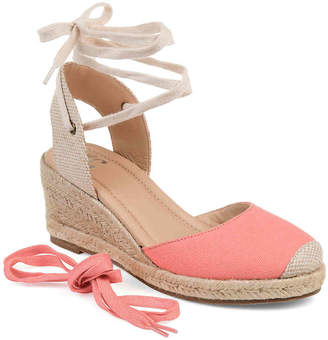 Journee Collection Monte Espadrille Wedge Sandal - Women's