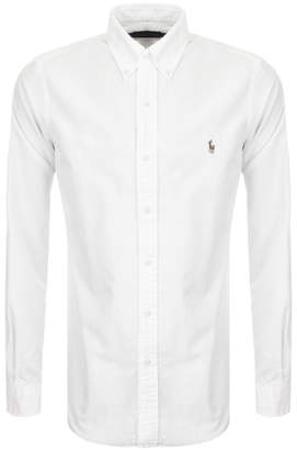 Ralph Lauren Slim Fit Oxford Shirt White