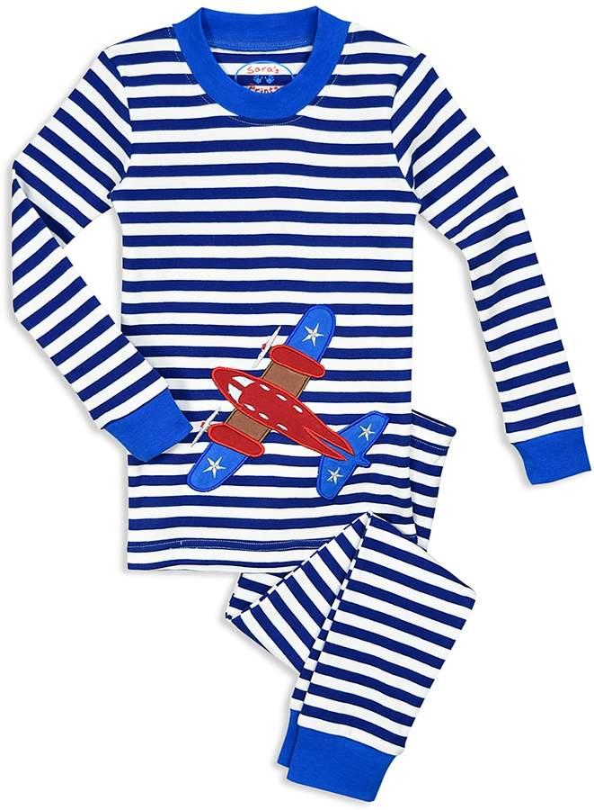 Unisex Airplane Pajama Shirt & Pants Set - Little Kid