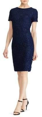 Lauren Ralph Lauren Floral Lace Sheath Dress
