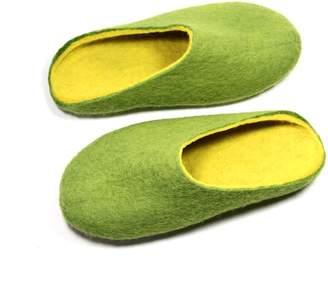 "Felt Forma Women's Organic Wool Clogs ""Mango"""