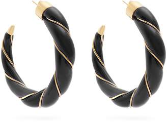 Aurelie Bidermann Diana twisted-effect gold-plated earrings