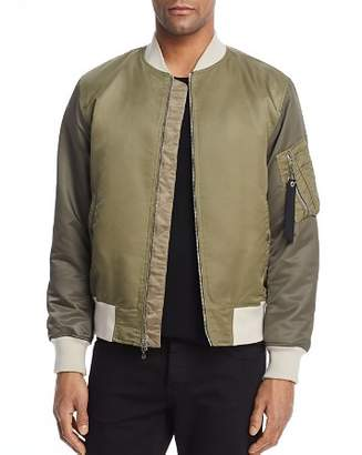 Rag & Bone Manston Color-Blocked Bomber Jacket