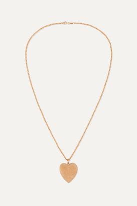 Carolina Bucci Florentine 18-karat Rose Gold Necklace - one size