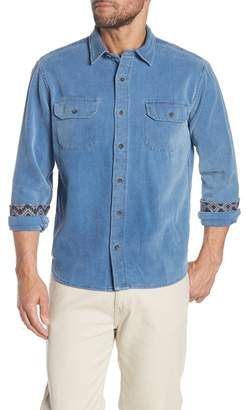 Tailor Vintage Indigo Denim Dobby Regular Fit Shirt