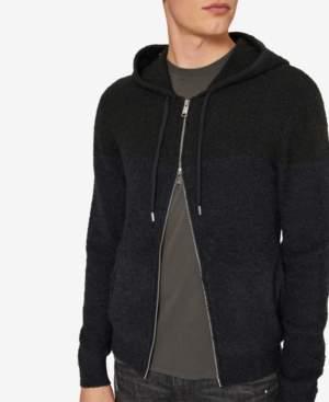 Armani Exchange Men's Slim Fit Lightweight Zip-Front Hoodie