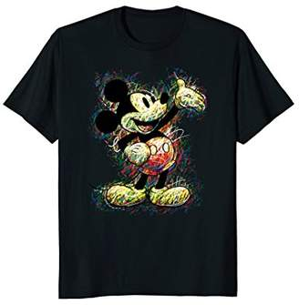 Disney Mickey Mouse Scribble T-shirt