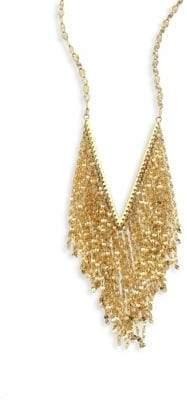 Lana Mega Fringe 14K Yellow Gold Pendant Necklace