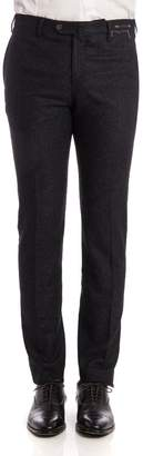 Pt01 Wool And Silk Trousers