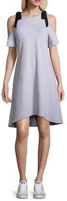 PROJECT RUNWAY Project Runway Cold Shoulder Sweatshirt Dress