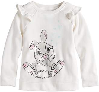 Carter's Disneyjumping Beans Disney's Bambi Thumper Toddler Girl Softest Fleece Sweatshirt by Jumping Beans