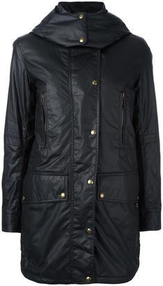 Belstaff 'CT Master' wax coat $1,035 thestylecure.com