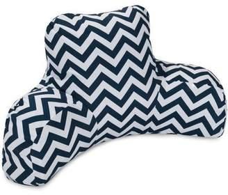 Majestic Home Goods Chevron Reading Pillow, Indoor/Outdoor