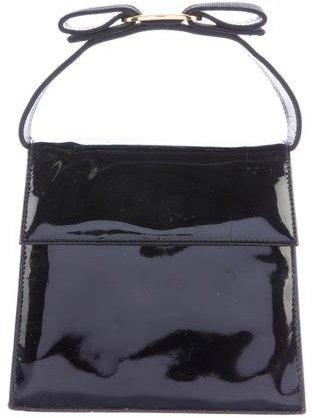 Salvatore Ferragamo Patent Leather Box Crossbody
