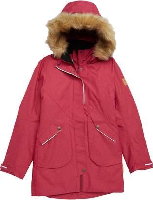 Reima Inari Reimatec(R) Waterproof Hooded Jacket with Faux Fur Trim
