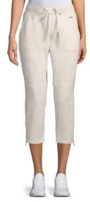 Nanette Lepore Side-Zip Moto Capri Pants