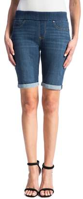 Liverpool Sienna Pull-On Denim Bermuda Shorts