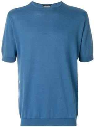 John Smedley classic short-sleeve T-shirt