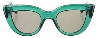 Ellery Graz Cat-Eye Sunglasses